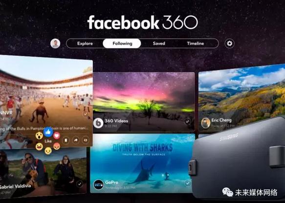 Facebook推出360度视频APP-高清范资讯