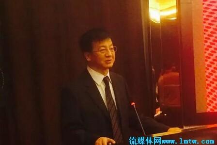 图为:内蒙古广电网络公司总经理付海波